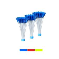 120 db-os vízibomba lufi, kék party kellék