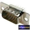 15 pólusú 3 soros D-SUB beépíthető dugó