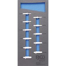 """1/3 szerszámtálca szerszámkocsihoz: 11 részes 1/4"""" hosszított COLL dugókulcs készlettel (BGS 4121) autójavító eszköz"""