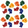 20 db többszínű PE mászókő