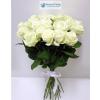 20 szálas fehér rózsa köteg