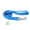 25 mm x 1,2 m nylon póráz füllel, normál karabínerrel kék