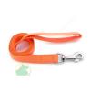 25 mm x 2 m nylon póráz füllel, normál karabínerrel narancs