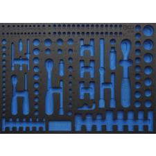 3/3 Szerszámtálca szerszámkocsihoz, üresen: 192 részes Pro Torque® dugókulcs készlethez (nem tartozék) (BGS 4036-1) autójavító eszköz