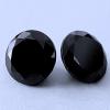 3 db csillogó cirkóniakő - fekete