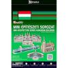 3D 3D puzzle Mini magyar épületek 155 db-os
