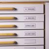 3L Címketartó zseb, 30x150 mm, fiókhoz,