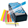 3L Jelölőcímke, műanyag, 4x12 lap, 12x40 mm, , vegyes