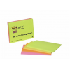 3M POSTIT Meeting chart, öntapadó, 4x45 lap, 14,9x9,8 cm, 3M POSTIT, vegyes színek