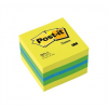 3M POSTIT Öntapadó jegyzettömb, 51x51 mm, 400 lap, , lime