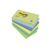 3M POSTIT Öntapadó jegyzettömb, 76x127 mm, 100 lap, , álmodozó színek