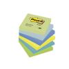 3M POSTIT Öntapadó jegyzettömb, 76x76 mm, 100 lap, , álmodozó színek