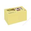 3M POSTIT Öntapadó jegyzettömb csomag, 48x48 mm, 12x90 lap, 3M POSTIT Super Sticky, sárga (LP62212SSCYEU)