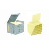 """3M POSTIT Öntapadó jegyzettömb, """"Z"""", 76x76 mm, 100 lap, környezetbarát, 3M POSTIT, sárga"""
