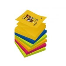 3M POSTIT Öntapadó jegyzettömb,  Z , 76x76 mm, 6x90 lap, 3M POSTIT,  Super Sticky , Rio jegyzettömb