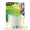 3M Scotch Ragasztó négyzetek, kétoldalú, 25,4 x 25,4 mm, 3M SCOTCH