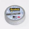 3M Scotch Ragasztószalag, 15 mm x 5 m, glitteres, 3M SCOTCH, Expression, ezüst (LPC514SIL)