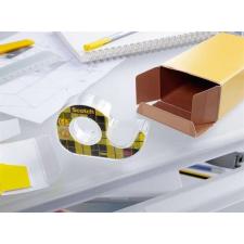 3M Scotch Ragasztószalag, kétoldalas, adagolón, kézi, 12 mm x 6,3 m, 3M SCOTCH ragasztószalag
