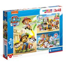 3x48 db-os Mancs Őrjárat puzzle Clementoni 25262 puzzle, kirakós