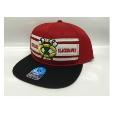 47 Brand Chicago Blackhawks Siltes sapka Three Stripes Snapback