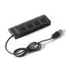 4-es USB elosztó, kapcsolóval