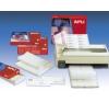 APLI 3 pályás mátrix etikett, 101,6 x 36 mm, 12.000 etikett/csomag etikett