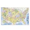 Stiefel Eurocart Kft. USA politikai térképe, tűzhető, keretes