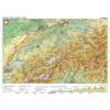 Stiefel Eurocart Kft. Svájc, domborzati (német nyelvű)