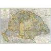 Stiefel Eurocart Kft. Magyarország közigazgatási térképe (Kogutowitz, 1942)