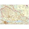 Stiefel Eurocart Kft. Muraköz megye (Horvátország) térképe, tűzhető, keretes