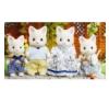 Epoch Sylvanian Families Selyem cica család játékfigura