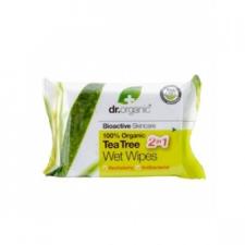 Dr. Organic bio teafa törlőkendő bőrápoló szer
