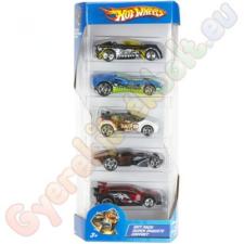 Hot Wheels : Kisautók 5 db-os 1/64 autópálya és játékautó