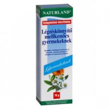 Naturland légzéskönnyítő mellkenőcs gyermekenek egészség termék