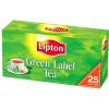 LIPTON Green Label fekete tea 25 filteres