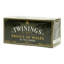 TWININGS Prince of Wales fekete tea 25 filteres tea