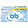 O.B. Pro Comfort tampon 16 db-os normál