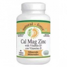 Natural Force Cal-Mag-Zinc + D Vitamin tabletta vitamin