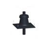 Tricox Kürtő fedél fekete 80mm építőanyag
