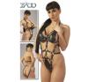 Zado Nyitható bőrpántos body body