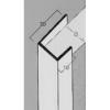 GIPSZKARTONHOZ PVC ÉLVÉDŐ J PROFIL 12.5 mm 3m