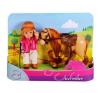 Simba Toys Steffi Love - Évi Baba Zsokéruhában - világosbarna lóval - Simba Toys barbie baba