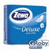 ZEWA Deluxe toalettpapír 4 tekercses (3 rétegű) tiszta fehér