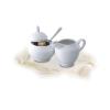 ROTBERG Basic tejszínkiöntő, fehér porcelán, 25 cl