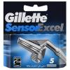 Gillette Sensor Excel tartalék pengék 5 db