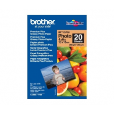 Brother BP71GP20 Premium Plus 10×15cm 20lap 260g fotópapír