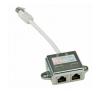 ROLINE UTP CAT5E Y elosztó kábel és adapter