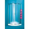 OLSEN Spa Navarra íves zuhanykabin+tálca 90×90