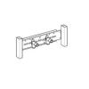 Grohe Rapid SL szerelvénytartó falicsapokhoz (37998000)