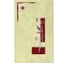Zalakerámia KAPRI KAPRI K-105   25x40 középdekor dekorburkolat